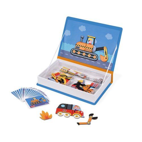 Magnetická kniha dopravné prostriedky