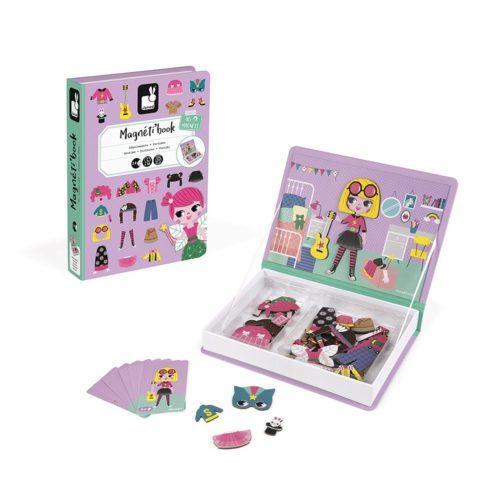 Magnetická kniha Obliekanie dievčatá