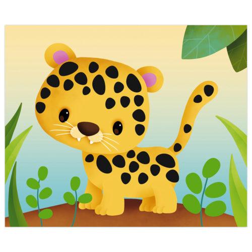 Kreatívna sada Zvieratká s nálepkami mini
