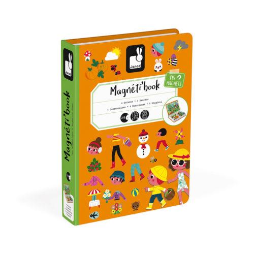 Magnetická kniha Ročné obdobia