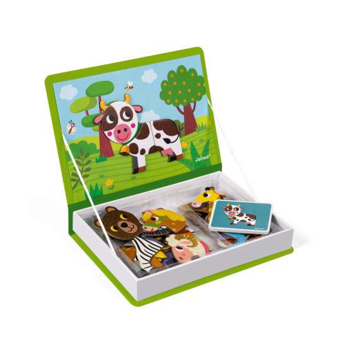 Magnetická kniha Zvieratká