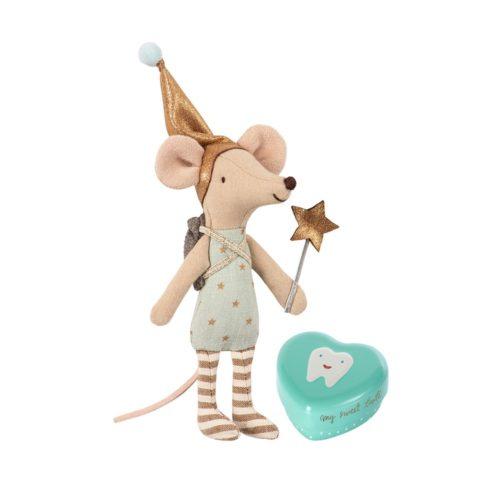 Myška Zúbková víla s krabičkou