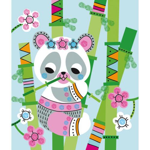 Prstové farby Panda