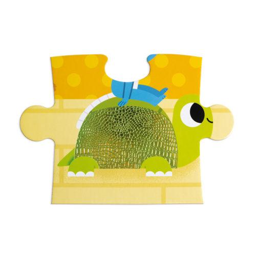 Dotykové puzzle Domáce zvieratká