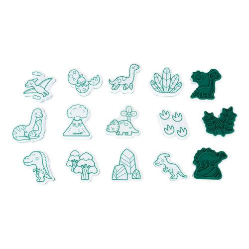 Pečiatky Dinosaury 15 ks