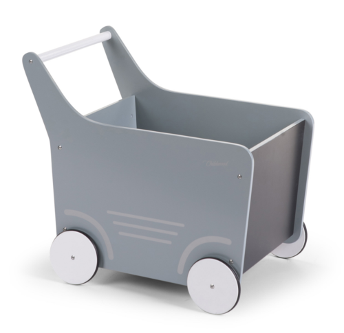 Drevený vozík s tabuľou mint