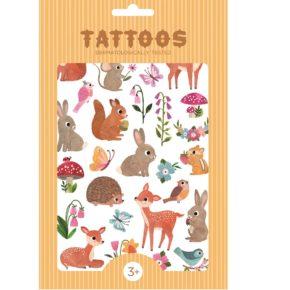 Tetovanie Lesné zvieratká