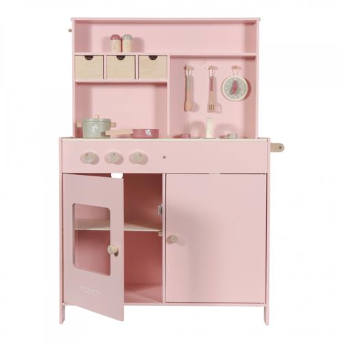 Drevená kuchynka Little Dutch pink