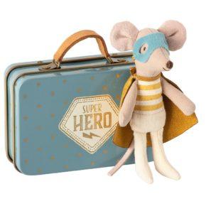 Myška Superhero v kufríku