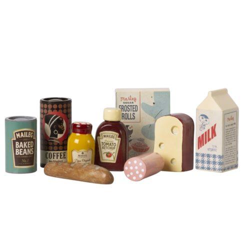 Potraviny v bedničke