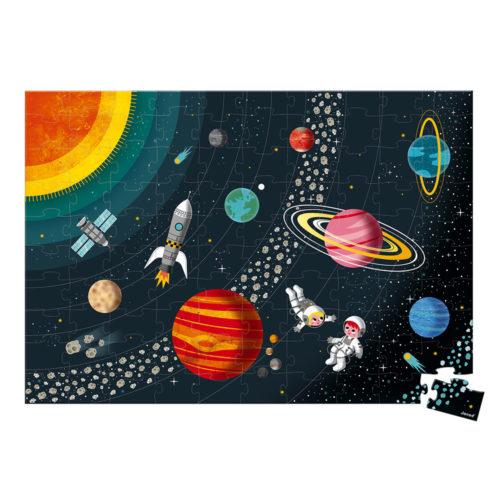 Puzzle Vesmír a slnečná sústava 100 ks