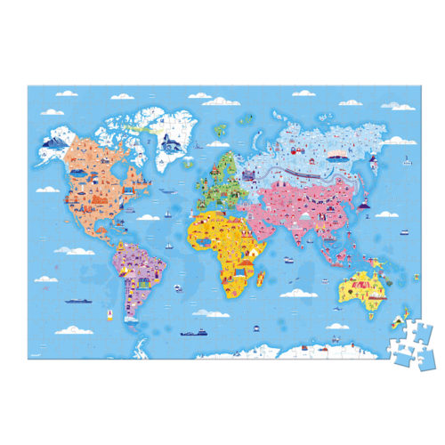 Puzzle Zaujímavosti sveta 350 ks
