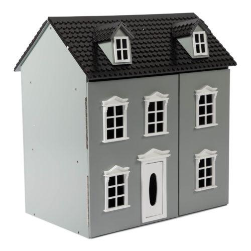 Drevený domček Classic šedá