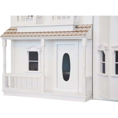Drevený domček Lux biela