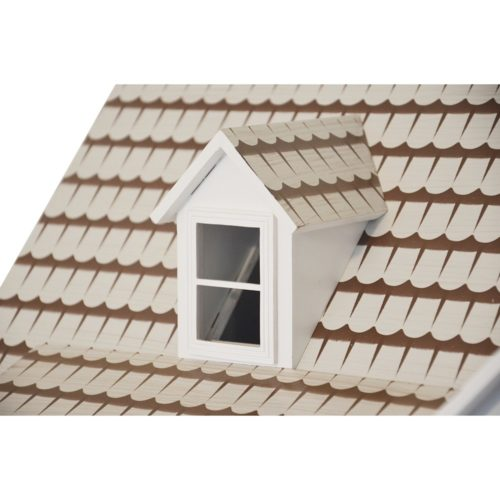 Drevený domček Lux biel