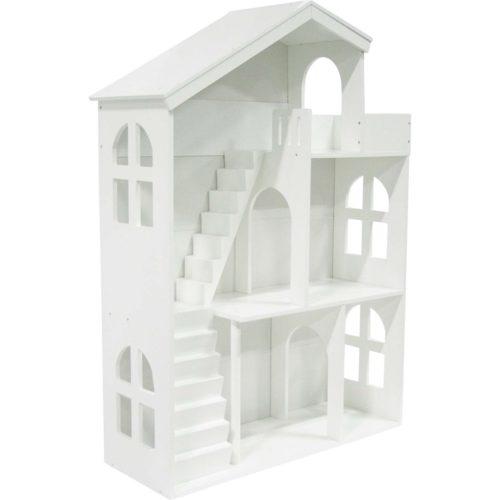 Drevený domček s terasou