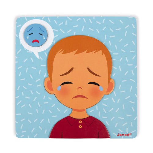 Magnetická hračka Emócie a pocity