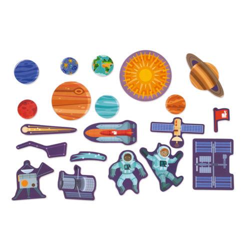 Magnetická hračka Vesmír