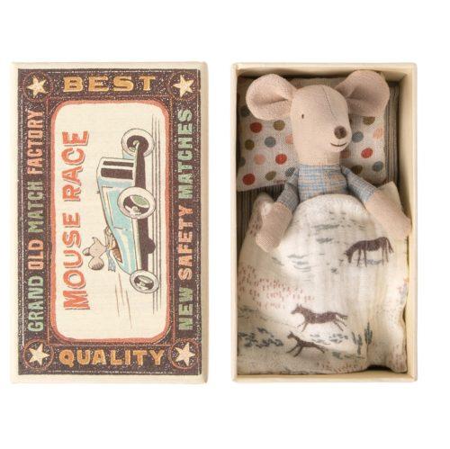 Malý brat Myšiak v krabičke