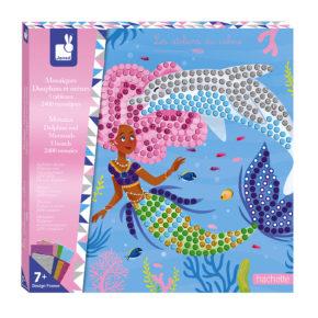 Mozaika Delfíny a morské panny