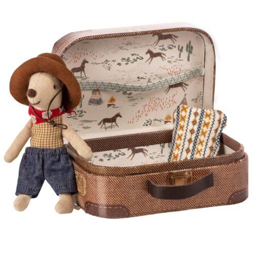 Myšiak Cowboy v kufríku