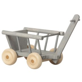 Šedý vozík Micro
