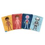 Vzdelávacie puzzle Ľudské telo