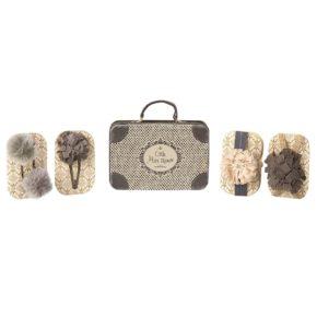 Doplnky do vlasov v kufríku