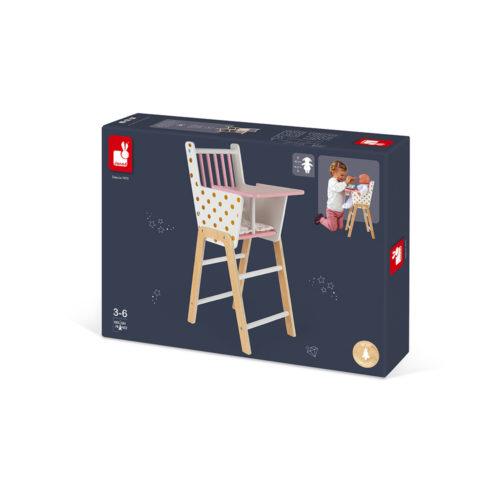 Stolička pre bábiky Candy chic