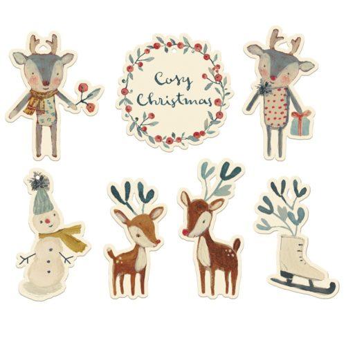Vianočné menovky Maileg Cosy Christmas