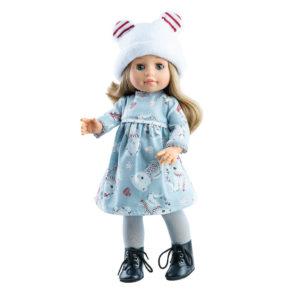 Bábika Soy Tu Emma s čiapkou