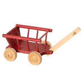 Červený vozík Micro