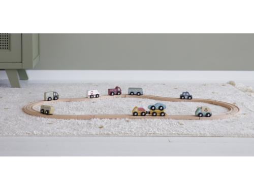Vláčiková dráha Set autíčiek