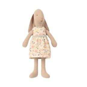 Zajačica v kvietkovaných šatách veľkosť 1