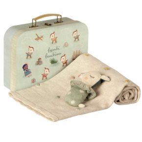 Darčekový set v kufríku Dusty mint
