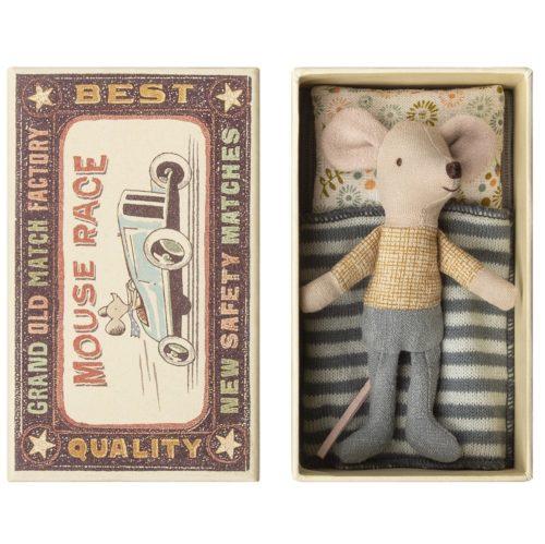 Malý braček myšiak v krabičke