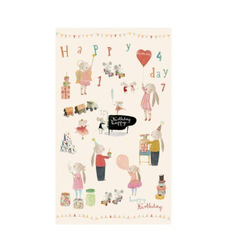 Darčekový papier Narodeniny