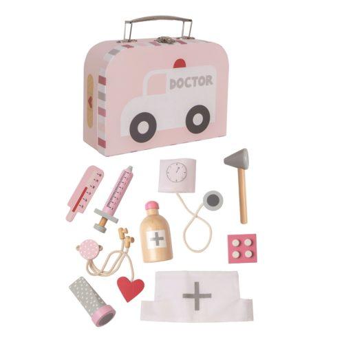 Lekársky kufrík ružová
