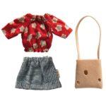 Oblečenie pre myšku maminu