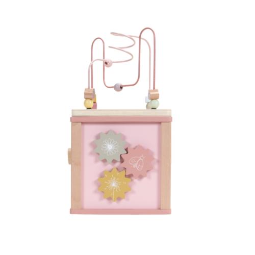 Aktivity kocka ružová Flowers