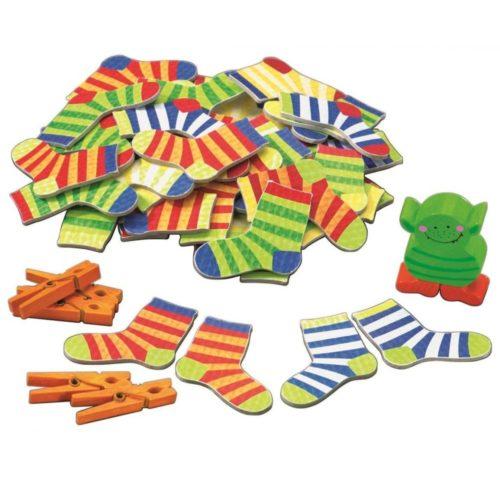 Hra Šťastné ponožky