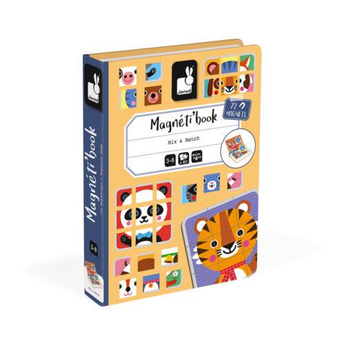 Magnetická kniha Zvieratá puzzle