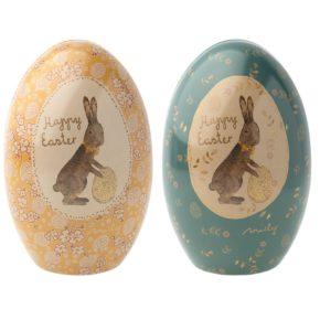 Veľkonočné kovové vajíčka Easter
