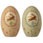 Veľkonočné kovové vajíčka pastel