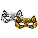 Vyfarbovacie zvieracie masky