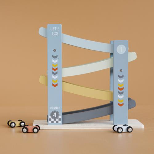 Závodná dráha modrá autíčka
