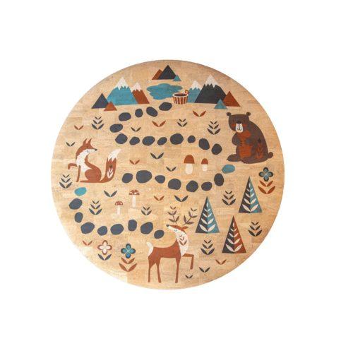 Detský koberec Forest Korkii