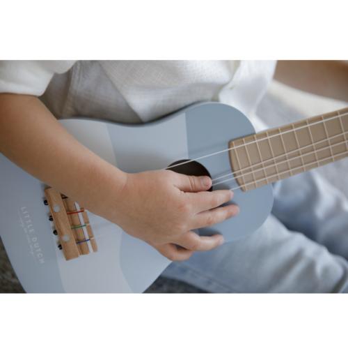 Gitara Little Dutch modrá