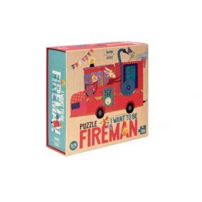 Puzzle Chcem byť hasičom