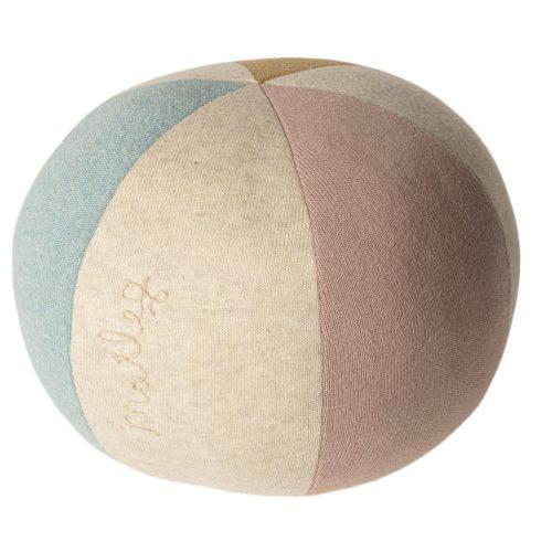 Textilná lopta Maileg modrá/ružová